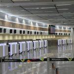 Corte do Terminal 1 do Galeão